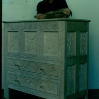 Morgan Bulkeley'swork, Carved Chest / Vigneron (MB)