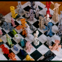 Morgan Bulkeley'swork, Chess Set