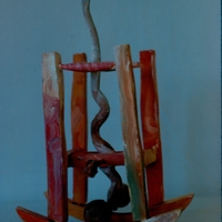 Morgan Bulkeley'swork, Rocker with Snake
