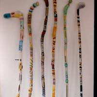 Morgan Bulkeley'swork, Walking Sticks