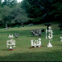 Morgan Bulkeley'swork, White Sculpture Field